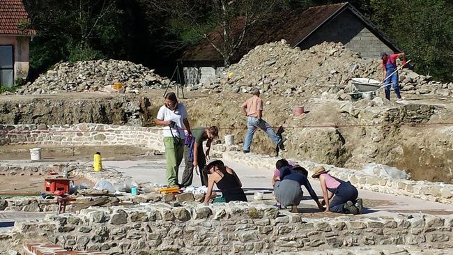 Rimski grad na obali Drine