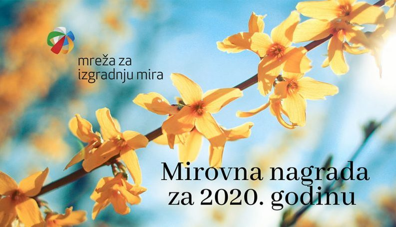 Poziv za Mirovnu nagradu 2020 Mreže mira